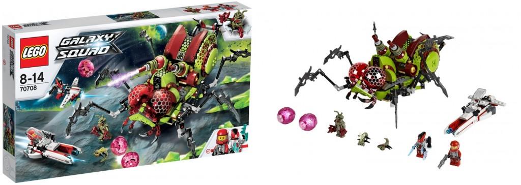 LEGO Galaxy Squad 70708 Hive Crawler