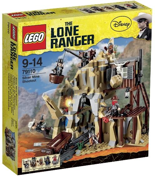 LEGO Lone Ranger Silver Mine Shootout 79110