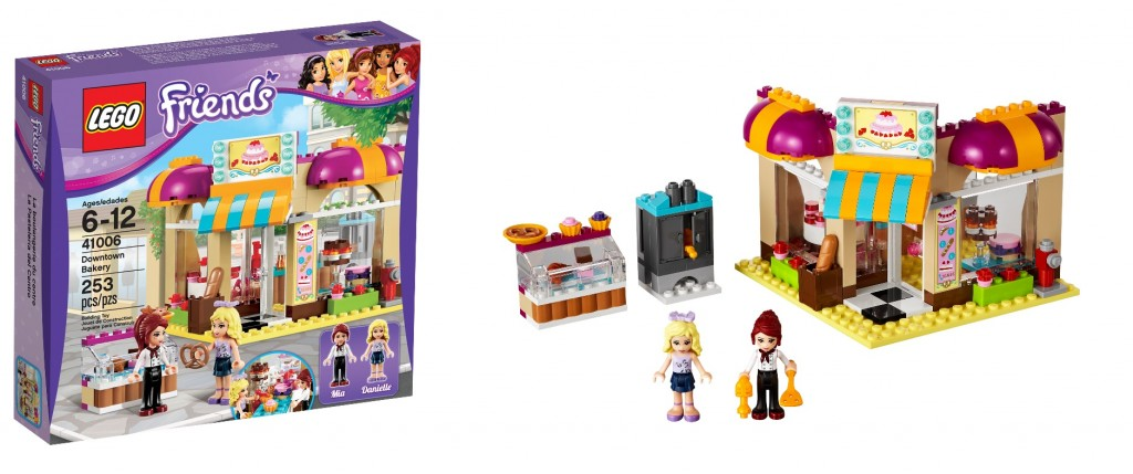 LEGO 41006 Downtown Bakery Friends - Toysnbricks