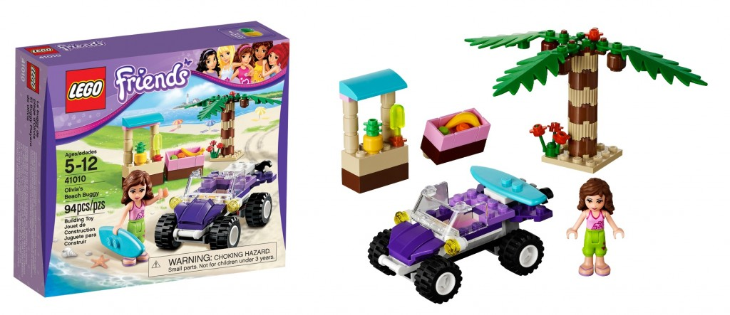 LEGO 41010 Olivia's Beach Buggy Friends - Toysnbricks