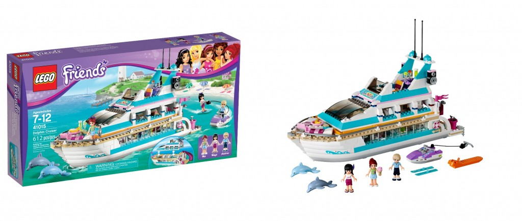 LEGO 41015 Dolphin Cruiser Friends - Toysnbricks