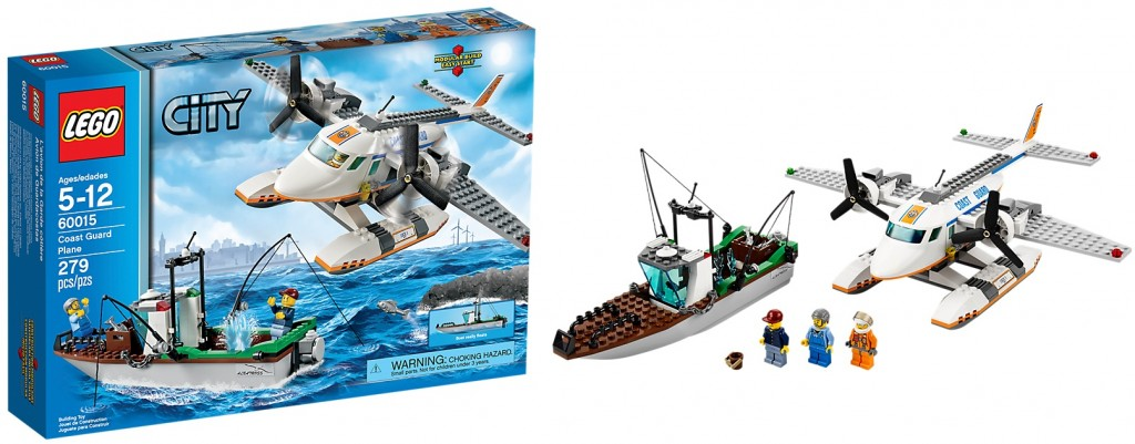 LEGO 60015 Coast Guard Plane City - Toysnbricks