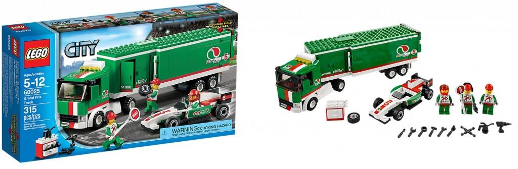 LEGO 60025 Grand Prix Truck - Toysnbricks
