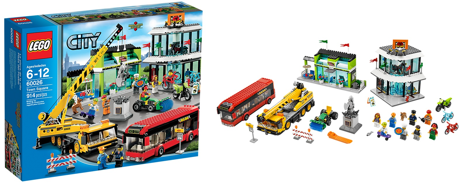 LEGO 60026 City Town Square   Toysnbricks