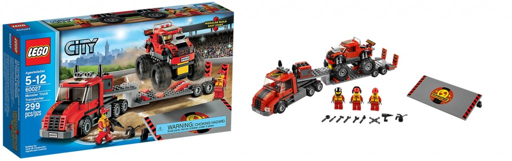 LEGO 60027 Monster Truck Transporter - Toysnbricks