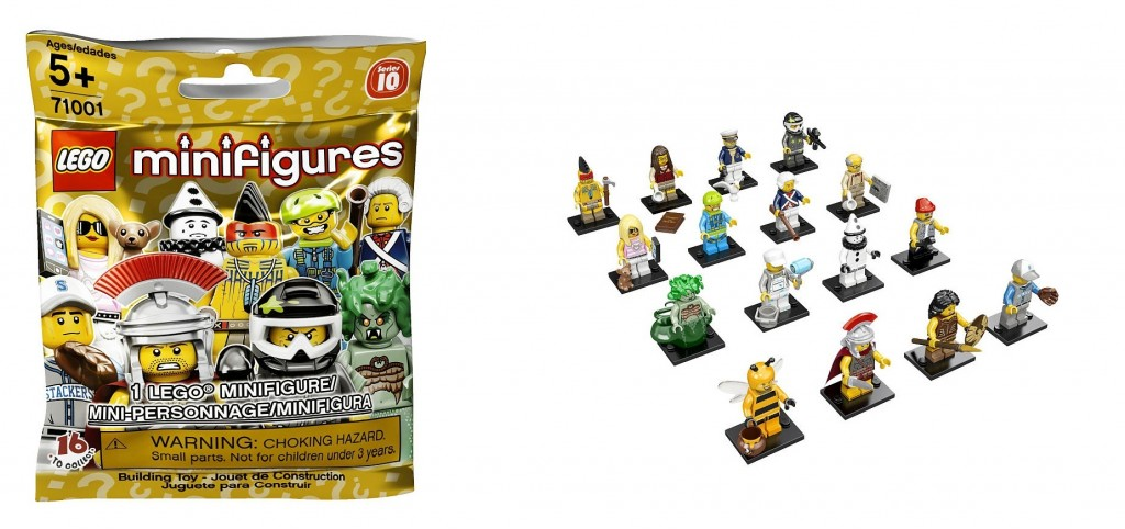 LEGO 71001 Series 10 Collectable Minifigures - Toysnbricks
