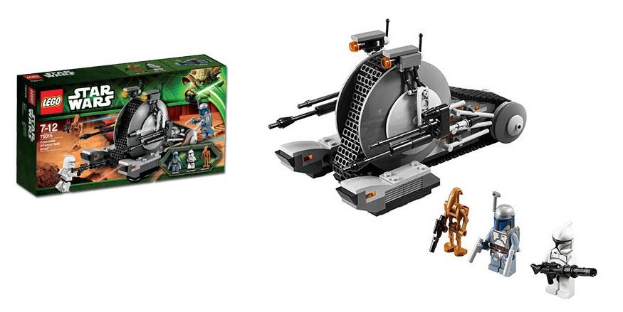 LEGO 75015 Corporate Alliance Tank Droid Star Wars