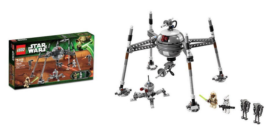 LEGO 75016 Homing Spider Droid Star Wars