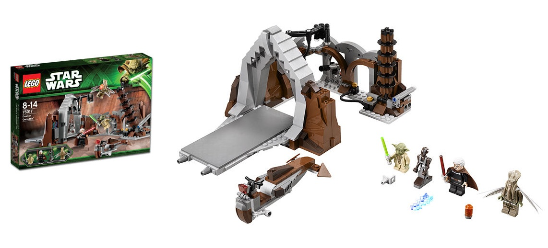 LEGO 75017 Dual on Geonosis Star Wars