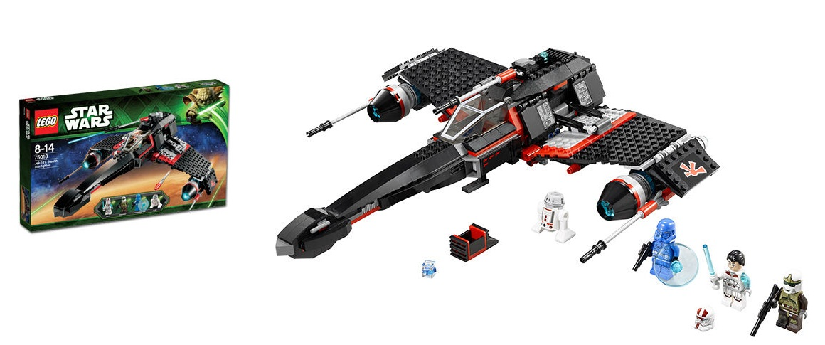 LEGO 75018 JEK-14's Stealth Starfighter Star Wars