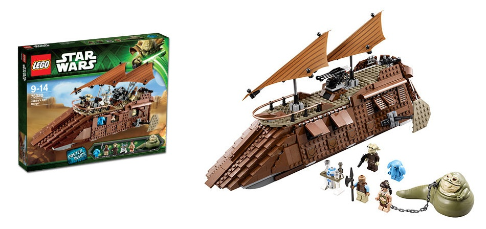 LEGO 75020 Jabba's Sail Barge Star Wars