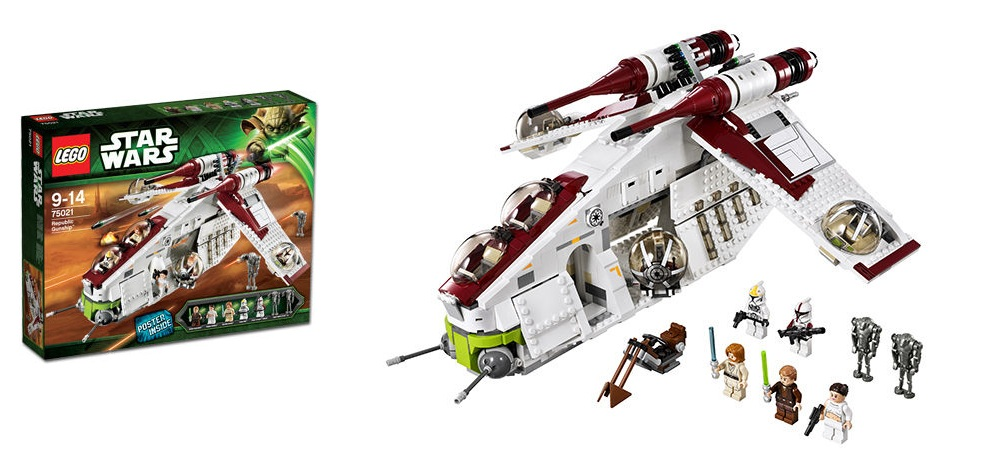 LEGO 75021 Republic Gunship Star Wars