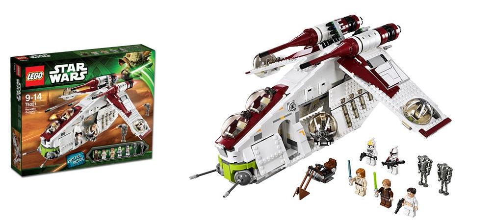 LEGO 75021 Republic Gunship Star Wars