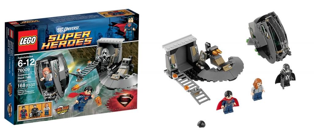 LEGO 76009 Superman Black Zero Escape DC Superheroes