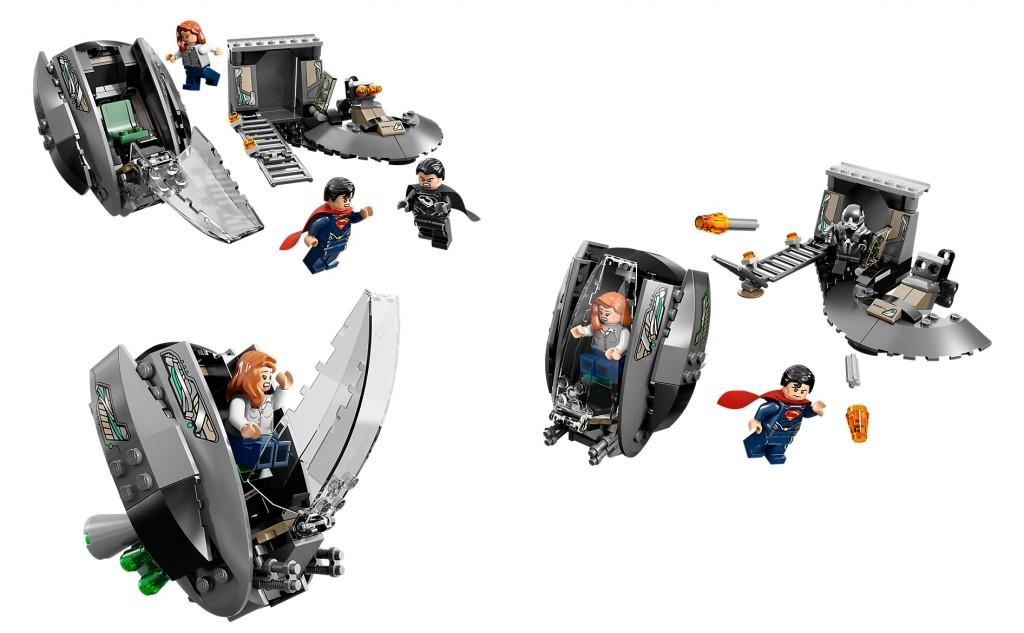 LEGO Black Zero Escape Superman 76009 DC Superheroes