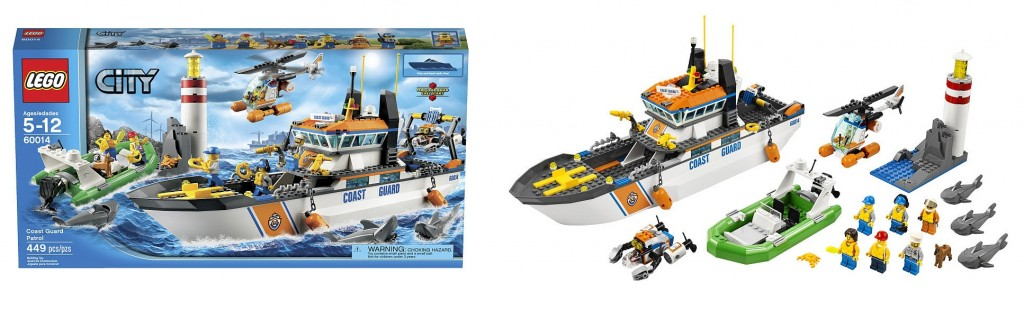 LEGO City Coast Guard Patrol 60014 - Toysnbricks