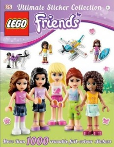 LEGO Friends Ultimate Sticker Collection DK Book - Toysnbricks