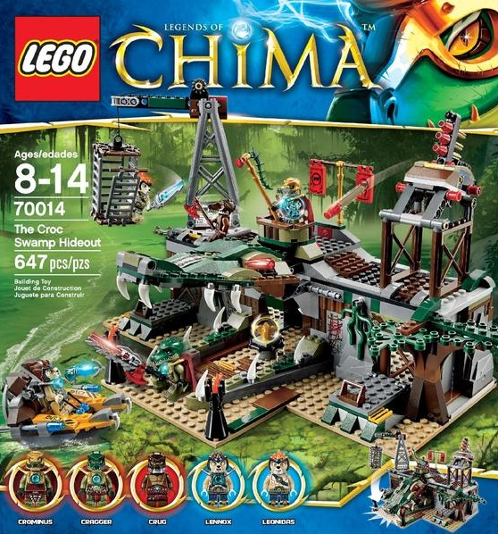 LEGO Legends of Chima 70014 The Croc Swamp Hideout - Toysnbricks