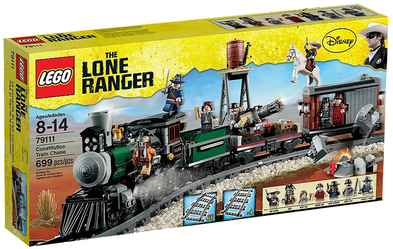 LEGO Lone Ranger 79111 Constitution Train Chase - Toysnbricks