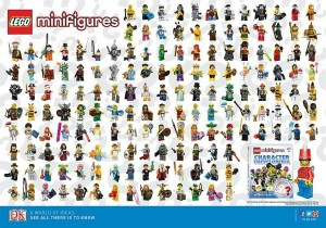 LEGO Minifigures Poster 5002483 - Toysnbricks