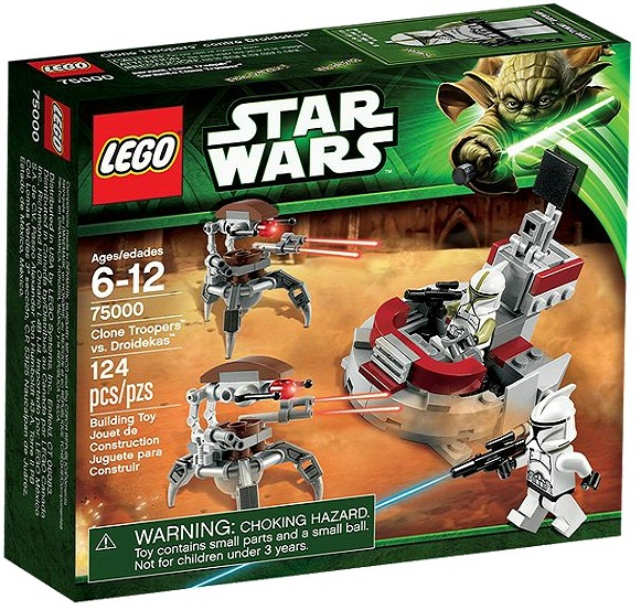 LEGO Star Wars 75000 Clone Troopers vs. Droidekas - Toysnbricks