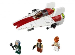 LEGO Star Wars 75003 A-wing Starfighter - Toysnbricks