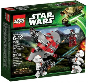 LEGO Star Wars Republic Troopers vs Sith Troopers 75001 - Toysnbricks