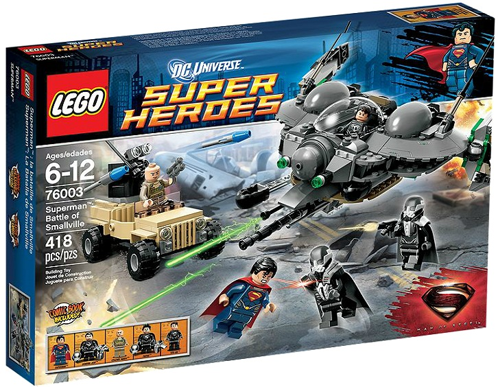 LEGO Superheroes 76003 Superman Battle of Smallville - Toysnbricks
