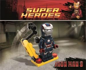 LEGO Superheroes Iron Patriot Minifigure 2013