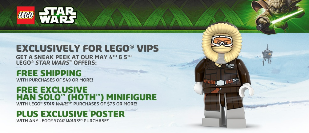 May 2013 LEGO Star Wars Exclusive Offer