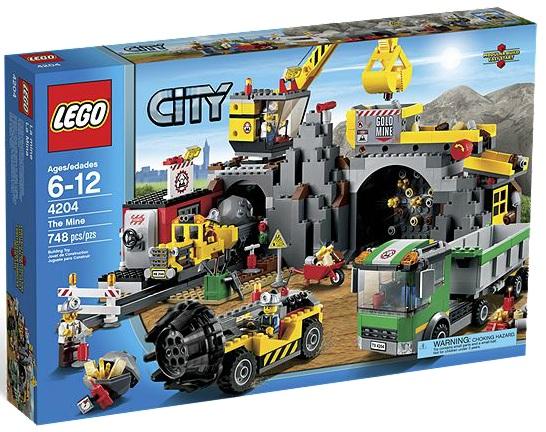 LEGO 4204 City The Mine - Toysnbricks
