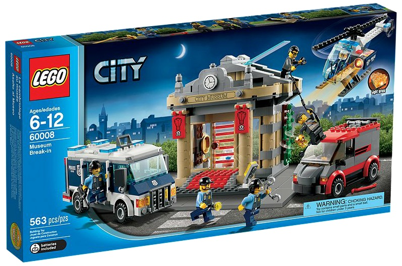 LEGO 60008 City Museum Break-in - Toysnbricks