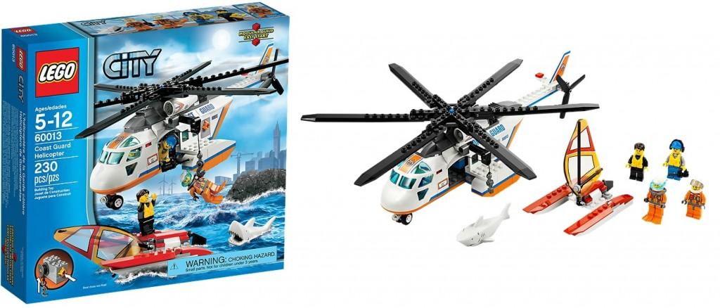 LEGO 60013 City Coast Guard Helicopter - Toysnbricks