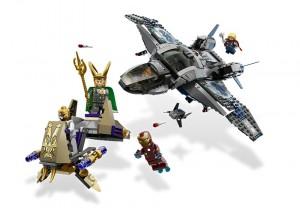 LEGO 6869 Superheroes Quinjet Aerial Battle - Toysnbricks