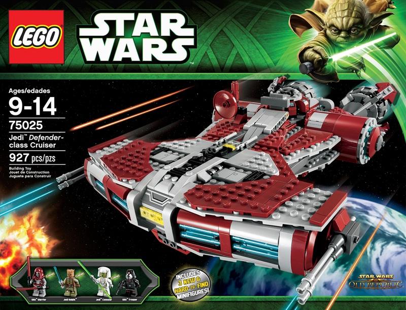 LEGO 75025 Jedi Defender-class Cruiser Star Wars