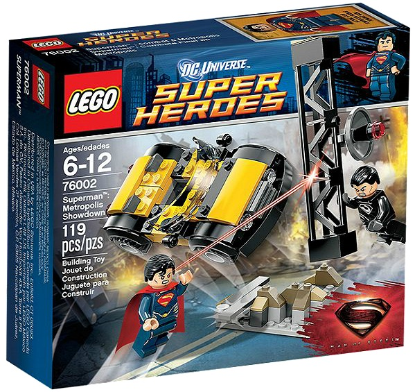 LEGO 76002 Superheroes Superman Metropolis Showdown - Toysnbricks