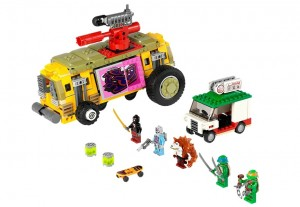 LEGO 79104 Teenage Mutant Ninja Turtles The Shellraiser Street Chase - Toysnbricks