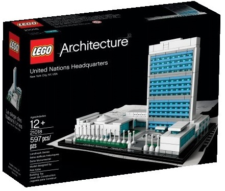 LEGO Architecture 21018 United Nations Headquarters (Pre)