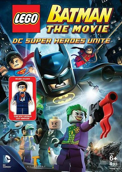 LEGO Batman 5002202 The Movie DC Super Heroes Unite DVD - Toysnbricks