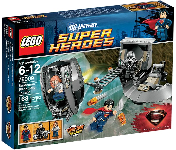 LEGO DC Superheroes Superman Black Zero Escape 76009 - Toysnbricks
