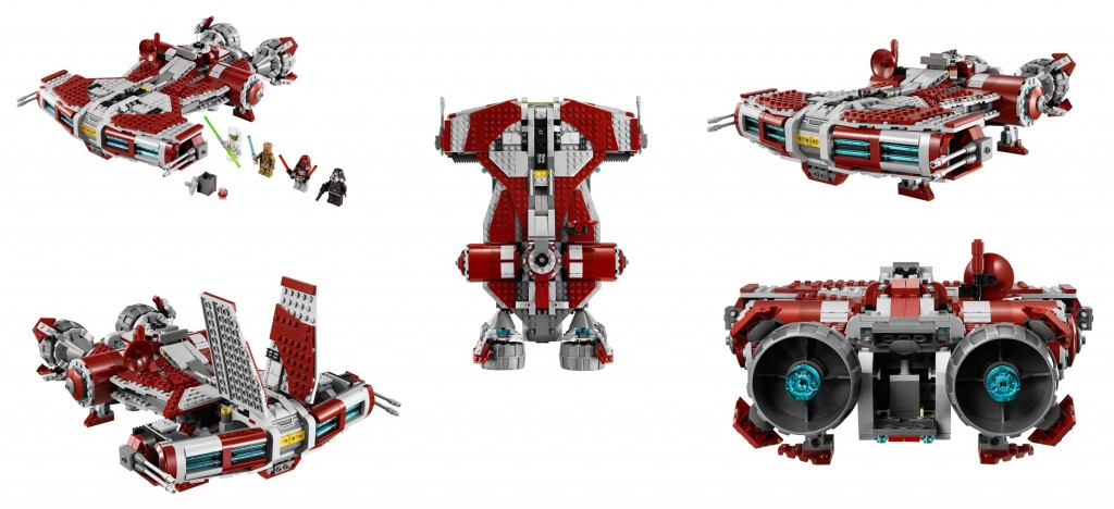 LEGO Jedi Defender-class Cruiser 75025 Star Wars
