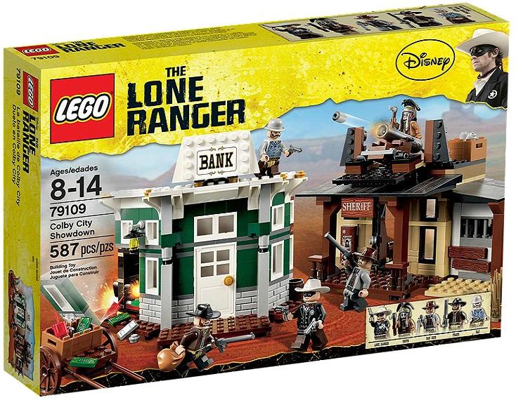 LEGO Lone Ranger 79109 Colby City Showdown - Toysnbricks