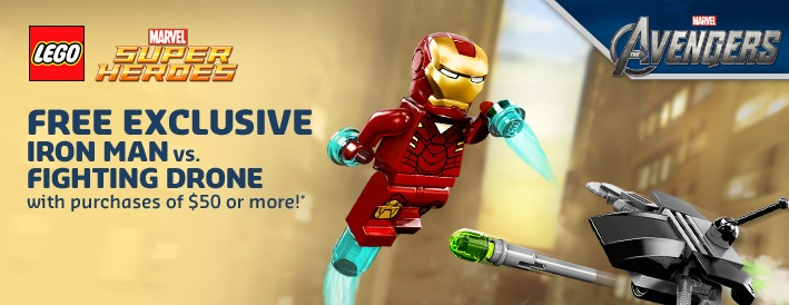 LEGO Marvel Superheroes 30167 Iron Man Drone May 2013 Promotion - Toysnbricks