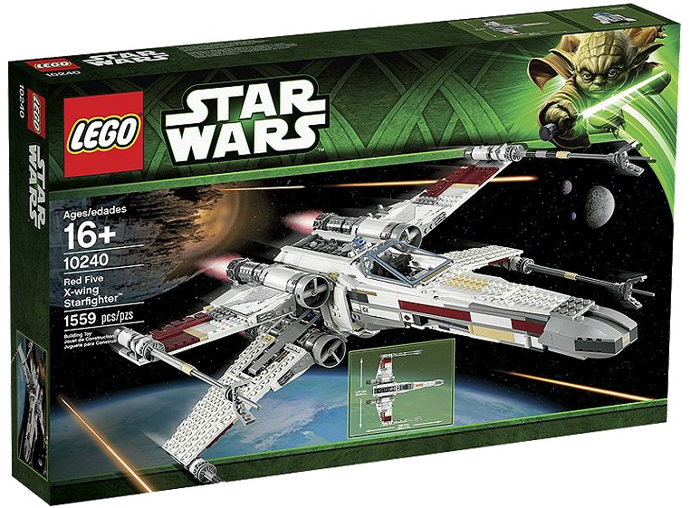LEGO Star Wars 10240 Red Five X-wing Starfighter - Toysnbricks