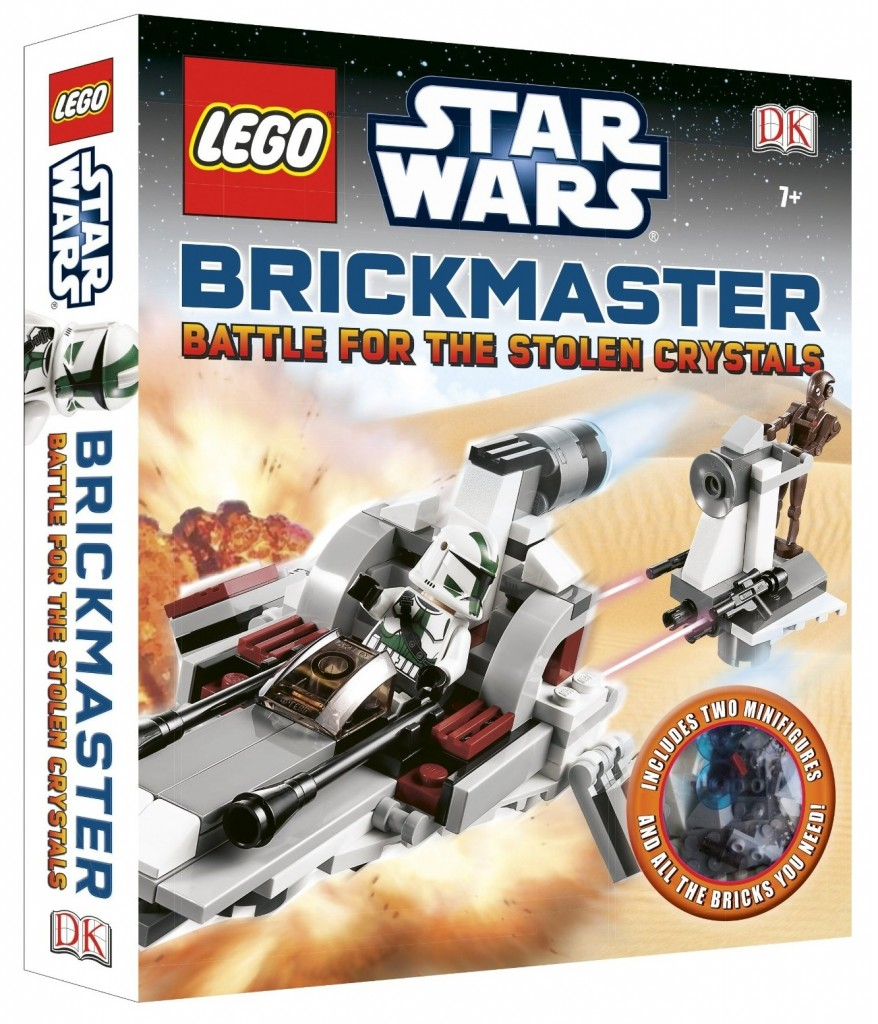 LEGO Star Wars Brickmaster Battle for the Stolen Crystals 2013 Book - Toysnbricks