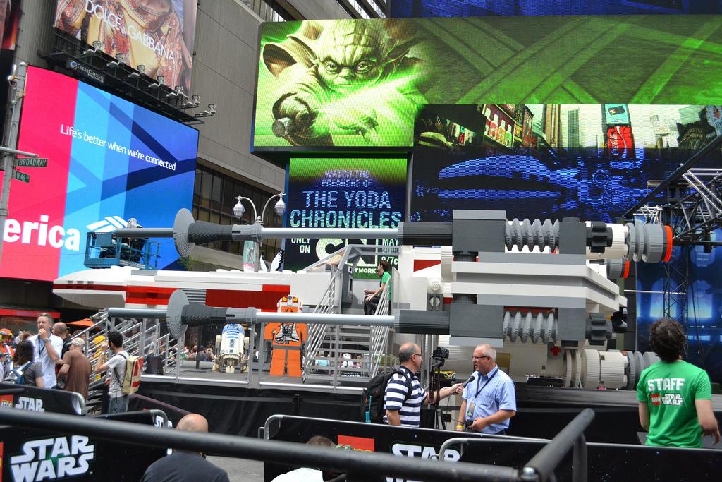 LEGO Star Wars Yoda Chronicles X-Wing at NYC 2013