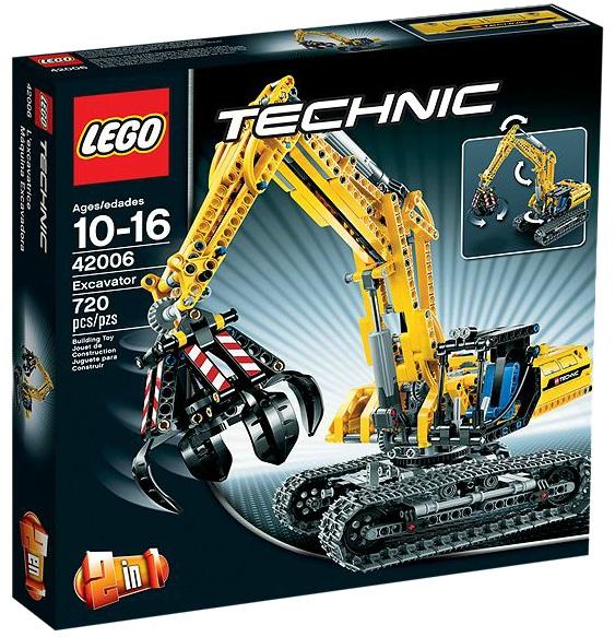 LEGO Technic 42006 Excavator - Toysnbricks