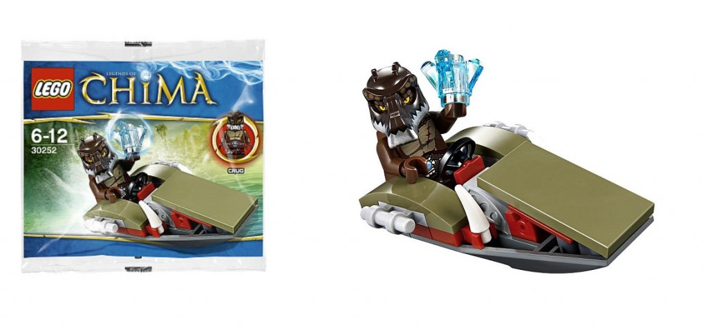 LEGO 30252 Legends of Chima Crug's Swamp Jet Polybag Set - Toysnbricks