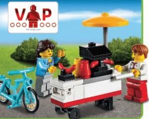 LEGO 40078 Hot Dog Cart Set (July 2013) - Toysnbricks