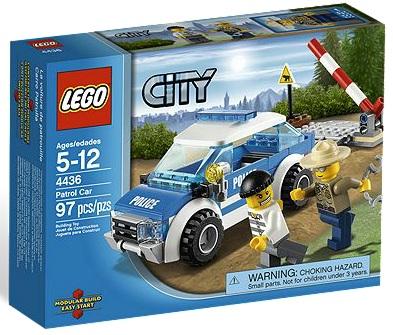 LEGO 4436 City Patrol Car - Toysnbricks